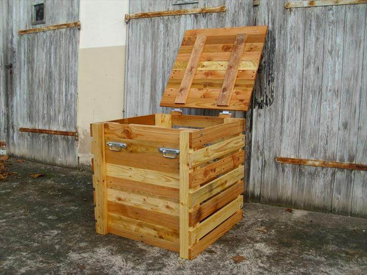 Pallet Storage Chest - Keepsake Box