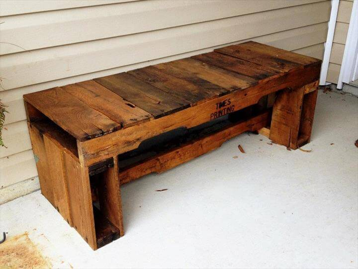 Rustic mudroom furniture ideas diy pallet entryway bench designs