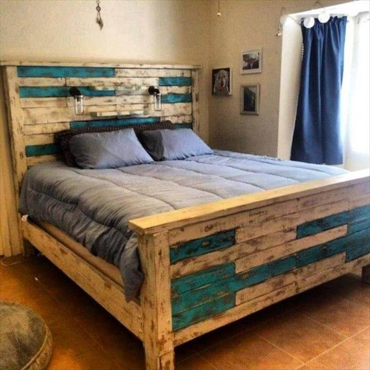 beds made from pallets 2