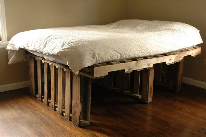 live more with pallets, build amazing bed frames with them just like ...