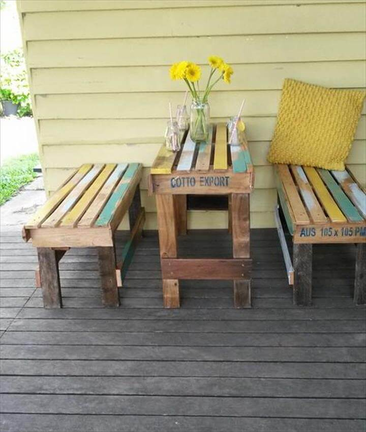 Pallet Outdoor Set - Patio Furniture