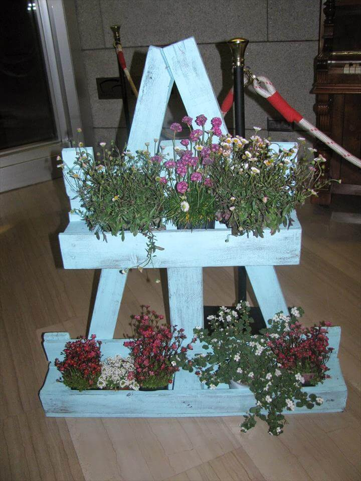 Brilliant diy wood pallet planter ideas