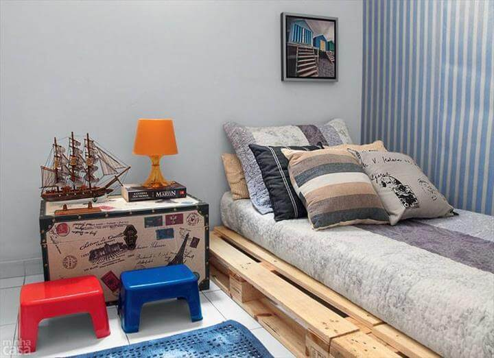 upcycled whole pallet sofa and daybed