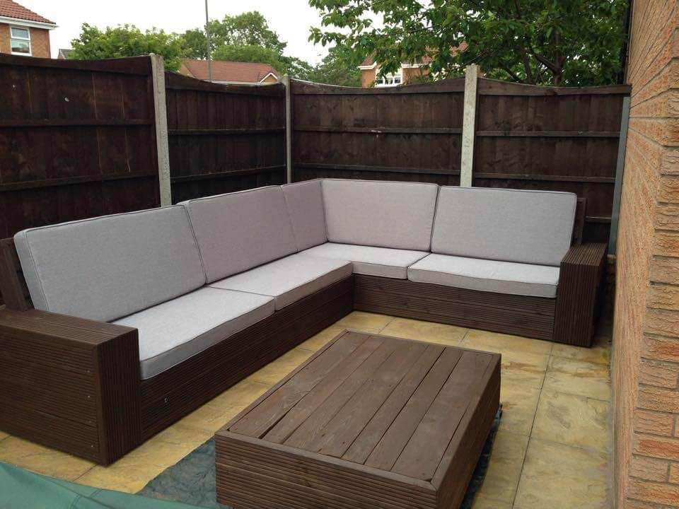 ... Pallet Sofa Plans Pallet Terrace Sofa Set Patio Sofa from Pallets DIY