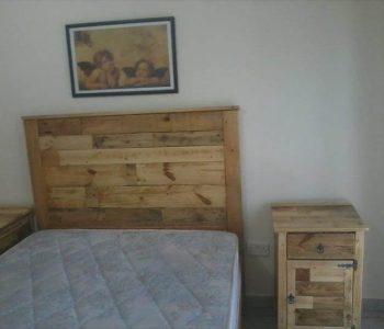 diy pallet nightstand with storage
