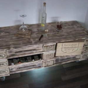 handcrafted rustic pallet coffee table and dresser