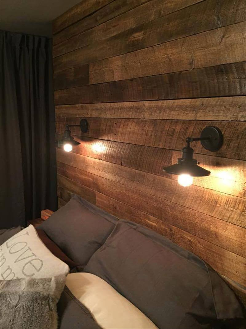 diy wood pallet wall ideas and paneling page 2 of 4. Black Bedroom Furniture Sets. Home Design Ideas