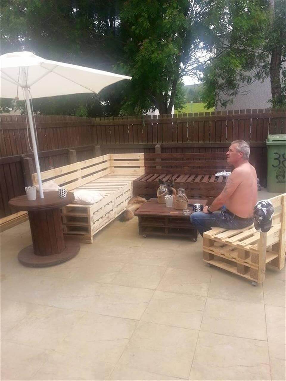 spectacular pallet patio furniture ideas
