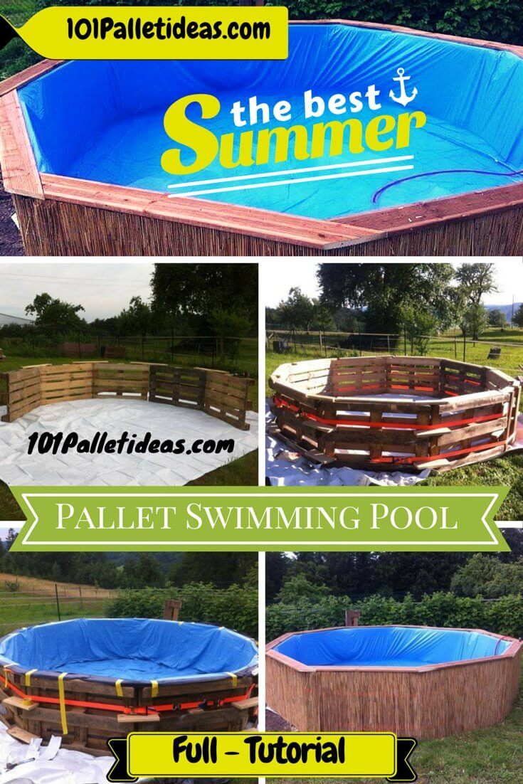 Diy Pool Ideas diy galvanized stock tank pool to beat the summer heat Swimming Pool Out Of Pallets