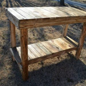 recycled pallet kitchen island table