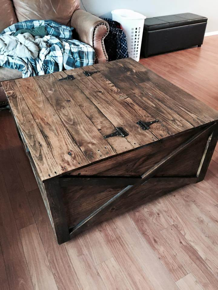 pallet-coffee-table-with-storage 720×960 pixels | woodworking