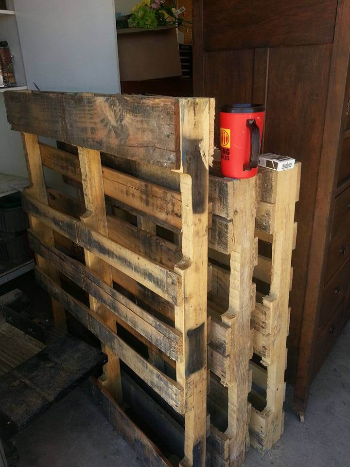 rustic pallet boards