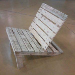 pallet kids lounge chair