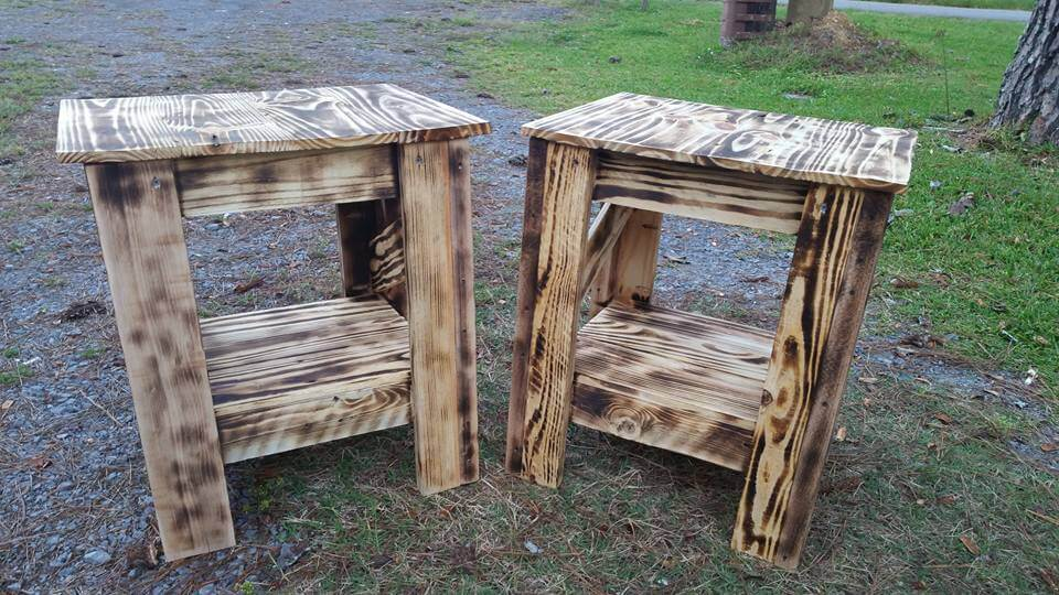 ... table made of pallets diy pallet table to inspired your living room
