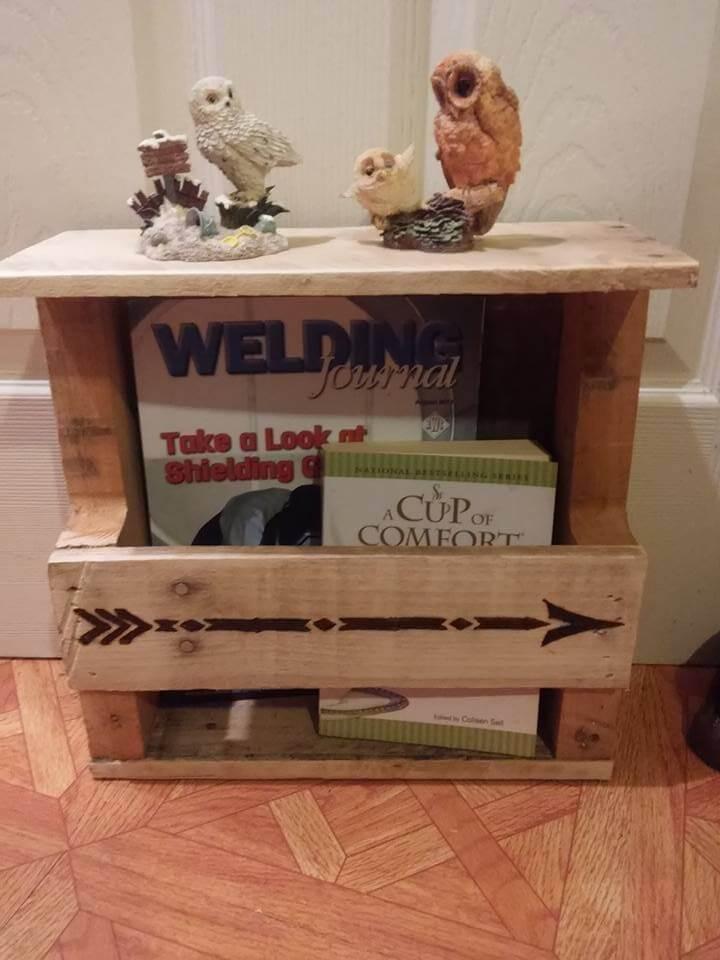 Wood Pallet Organizer