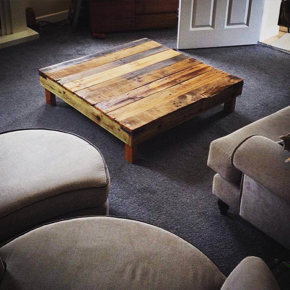 Furniture Legs Short 20 diy pallet coffee table ideas