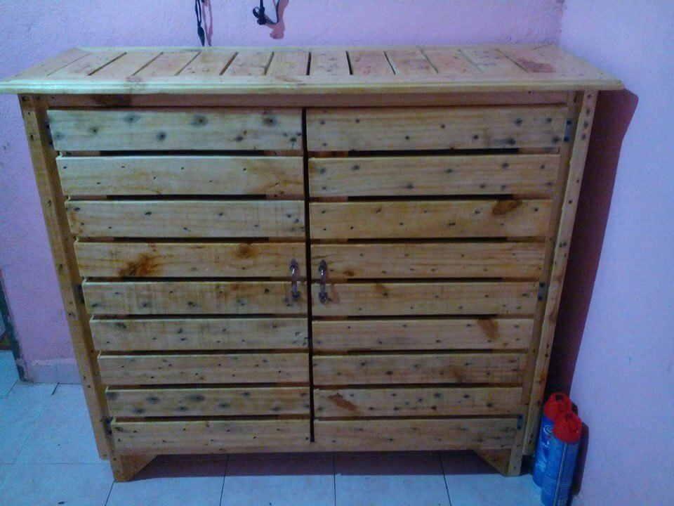 Pallet Kitchen Cabinet Sideboard