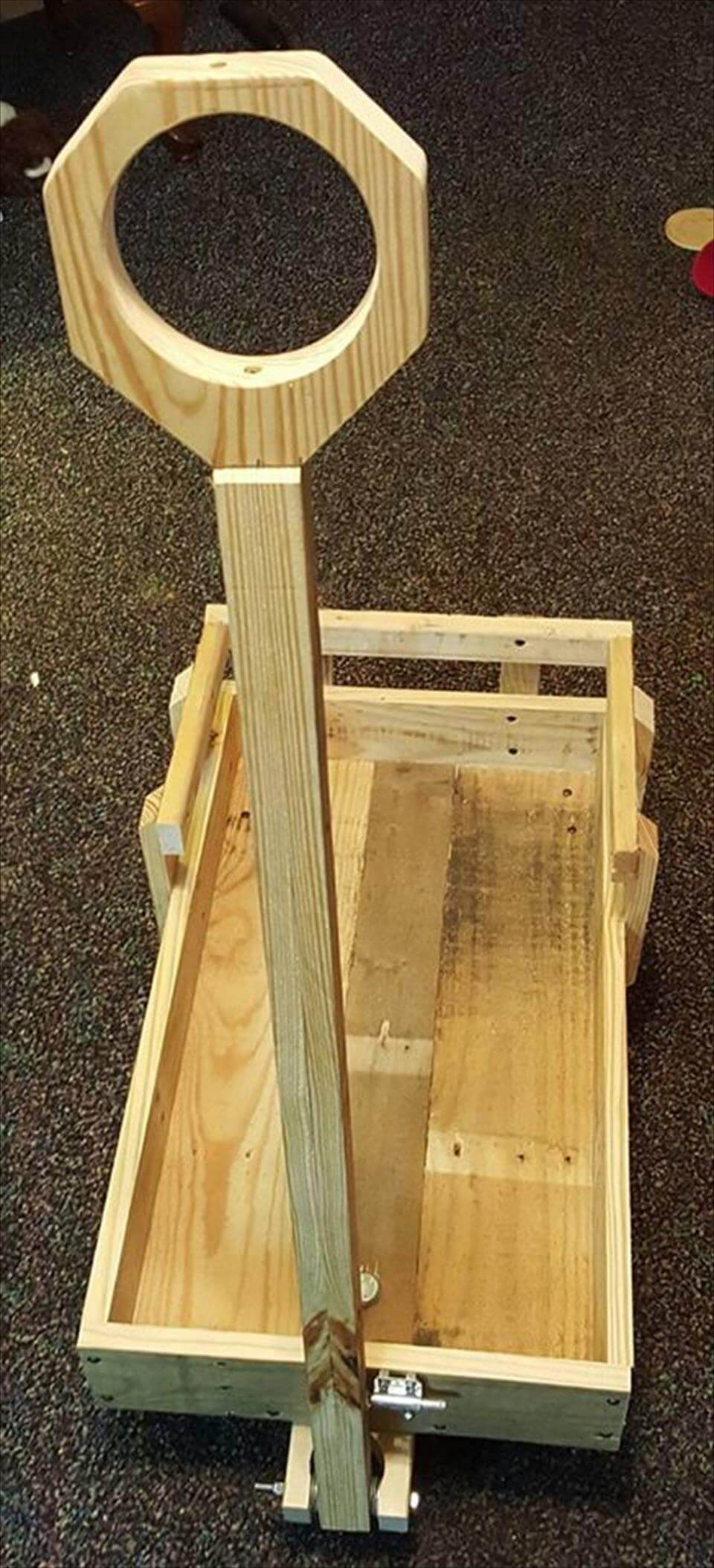 Pallet S Wood Toy Wagon
