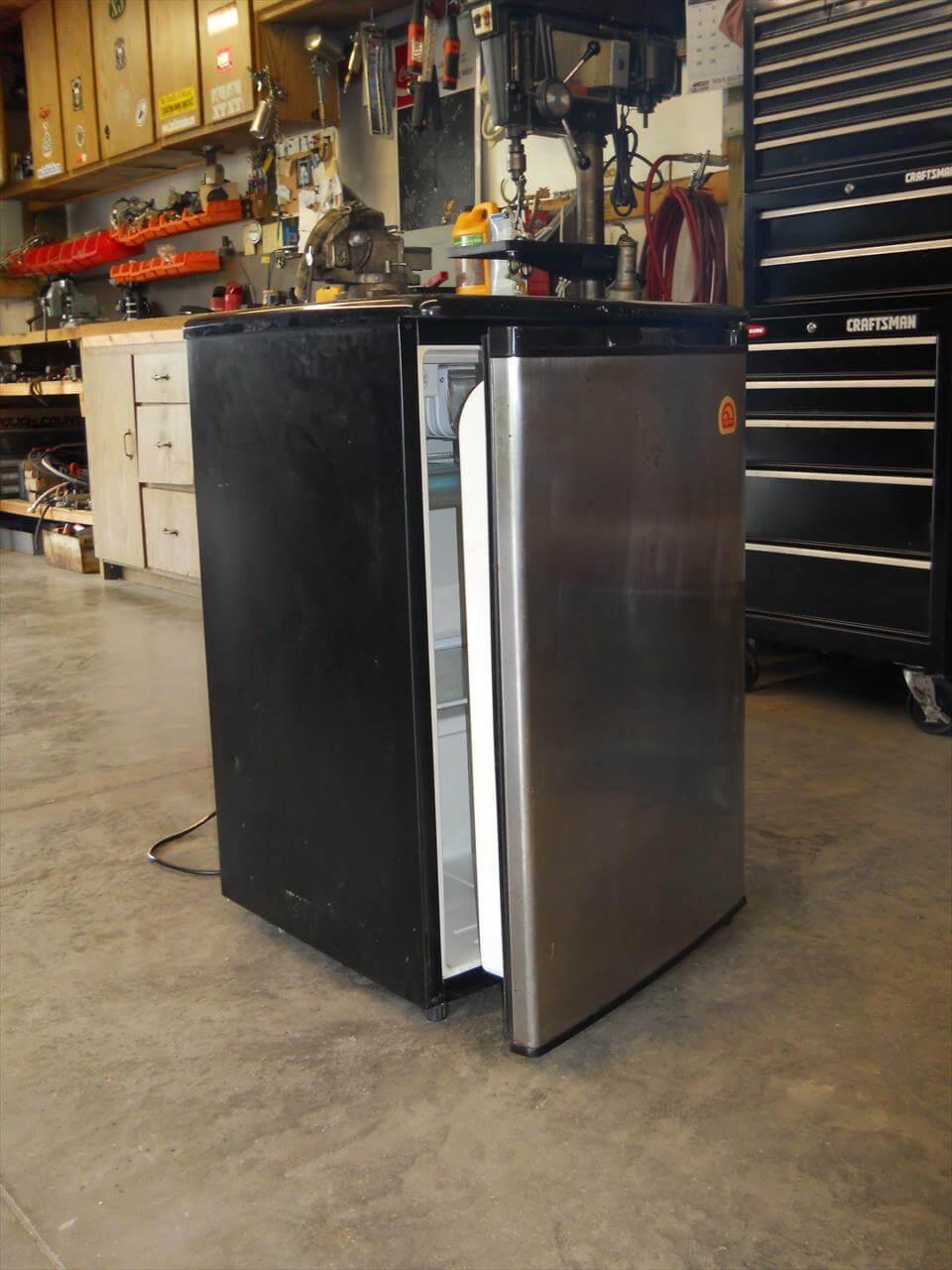 Repurposed fridge