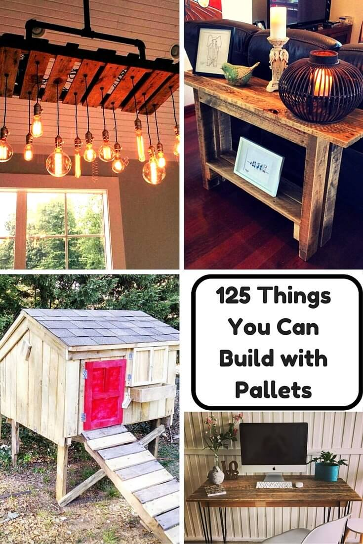 PALLET Wood Furniture Projects