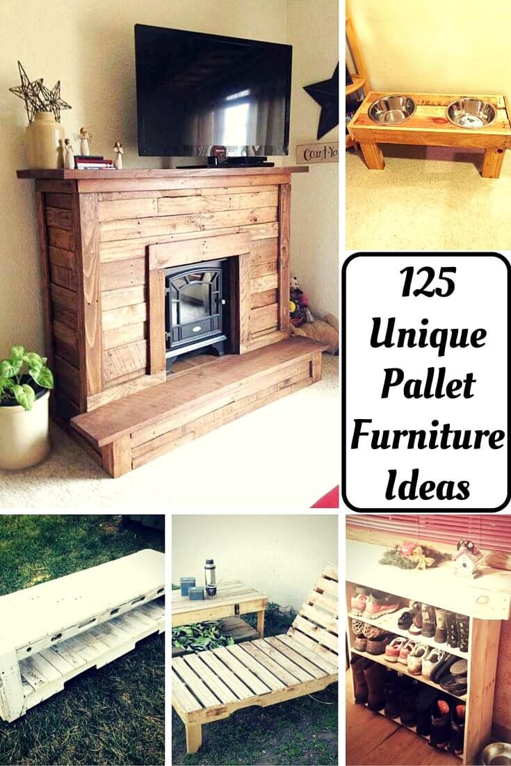 125 awesome diy pallet furniture ideas for Cool furniture ideas