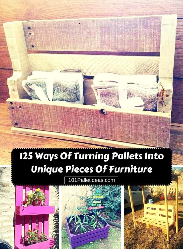 Do It Yourself Pallet Furniture