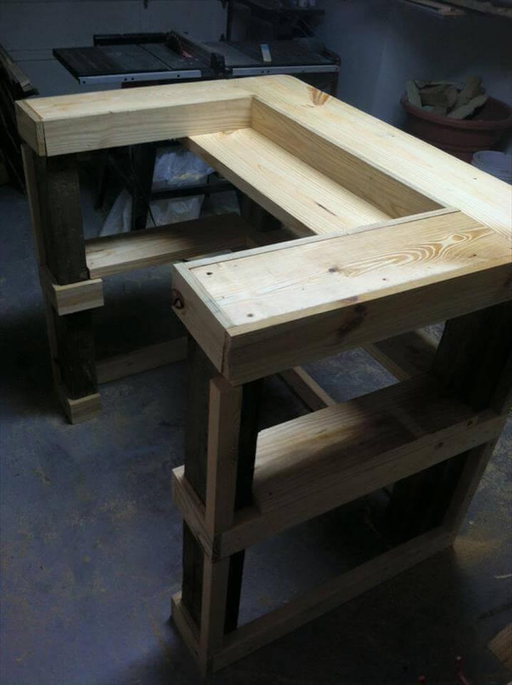 Mini Pallet Bar Table 101 Pallet Ideas