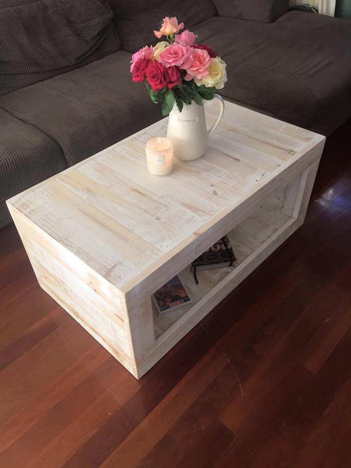 mini pallet coffee table