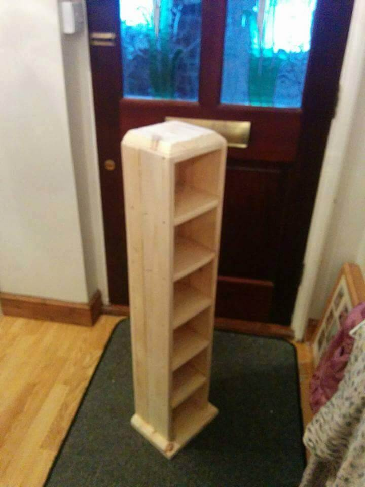 Pallet Cd Tower