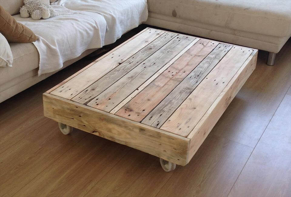 150 wonderful pallet furniture ideas for Fabriquer une coiffeuse meuble