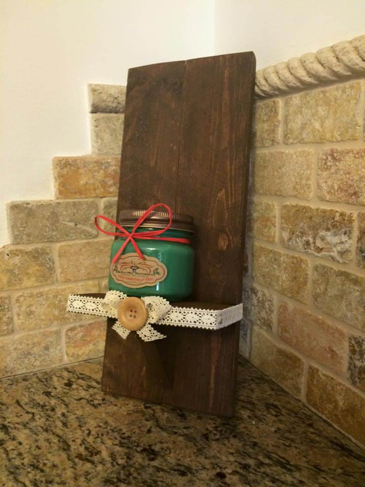rustic pallet-made gift
