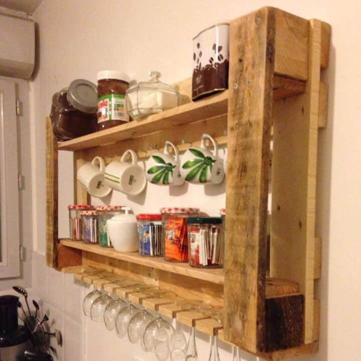 150 wonderful pallet furniture ideas for Pallet kitchen ideas