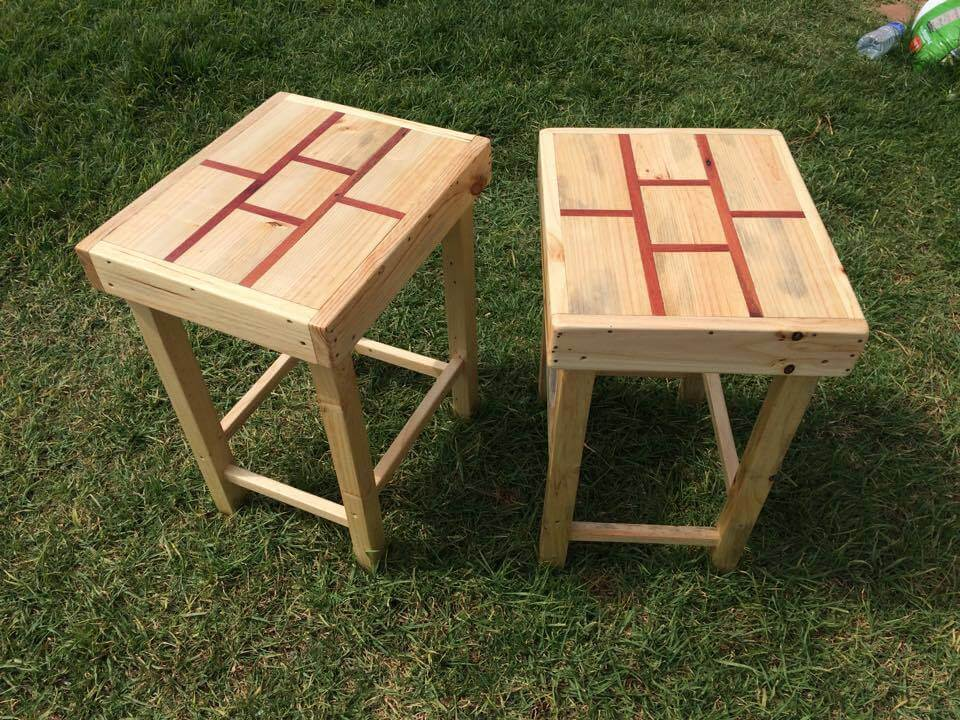 diy mini pallet tables and side tables