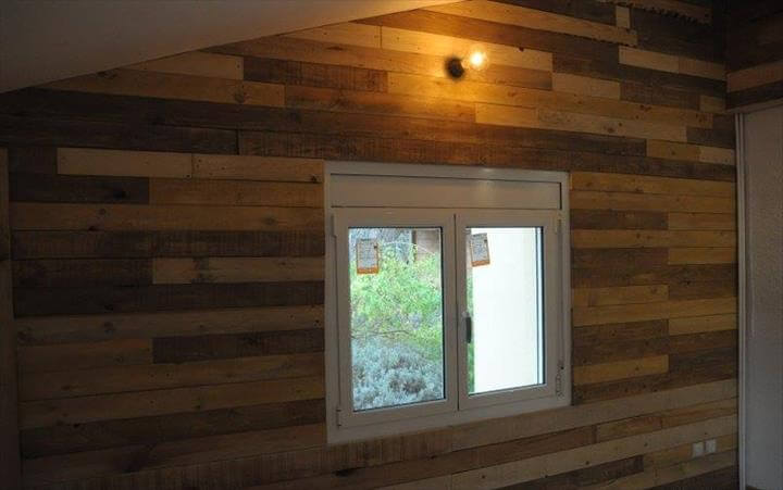 diy wood pallet wall ideas paneling