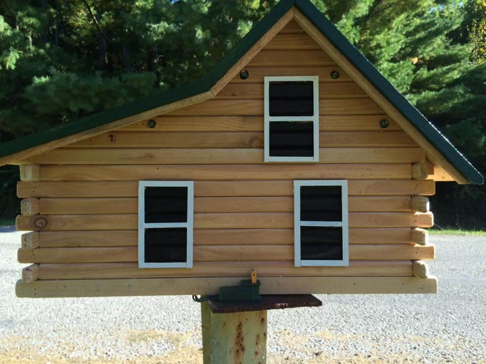 Wooden Pallets Mailbox  Birdhouse