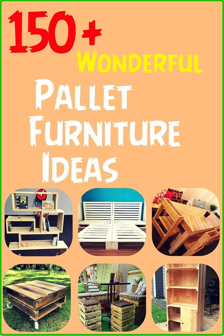 DIY Recycled Pallet Furniture Ideas