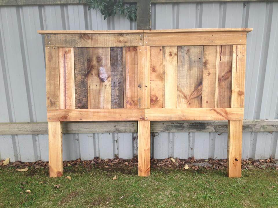 Headboards from Pallets