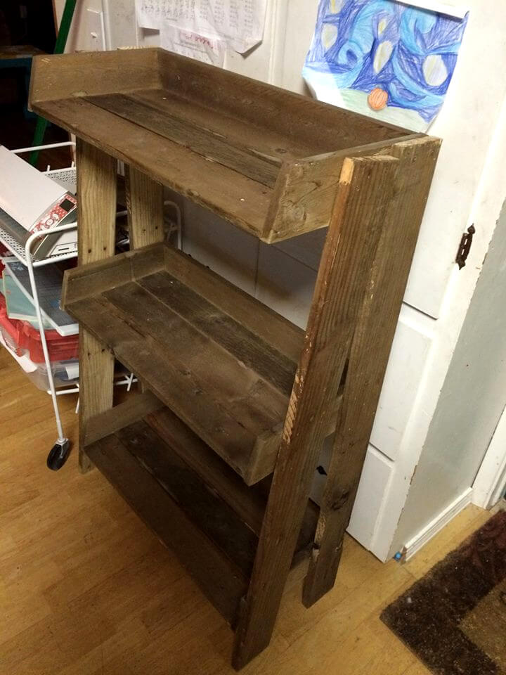 Creative Reclaimed Pallet Shelves Set Of 3 By DelHutsonDesigns On Etsy