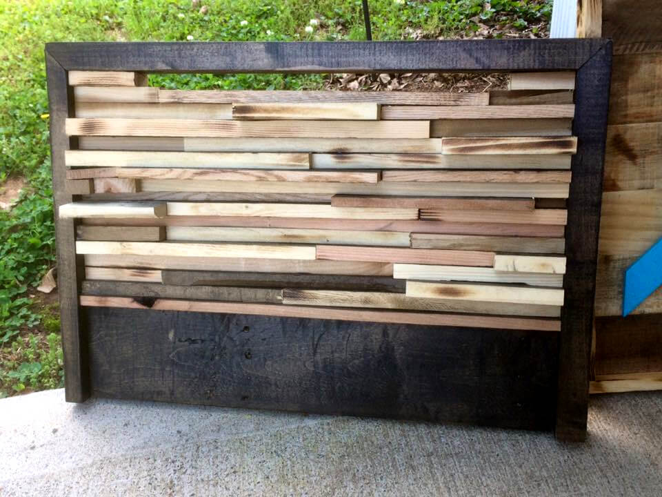 inspired wood pallet projects, Headboard designs