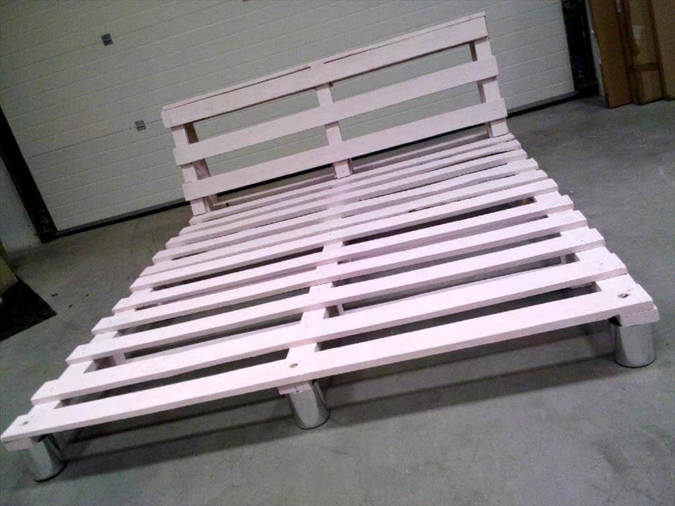 Pallet platform bed for Platform bed made from pallets