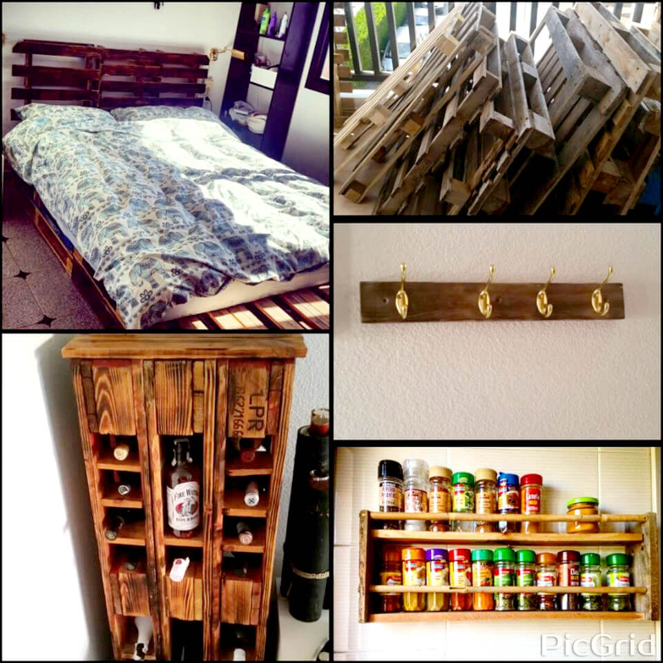 wooden pallet custom furniture ideas