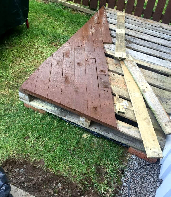 Pallet Front Porch Door Decking 101 Ideas