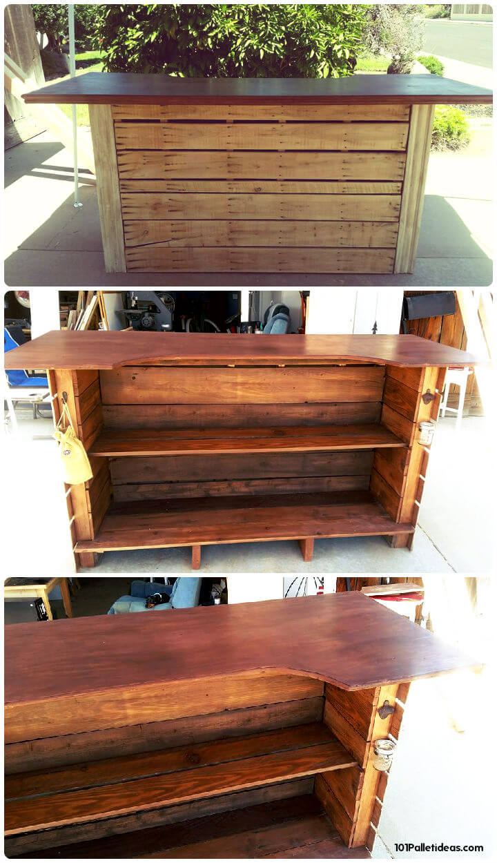 50 best loved pallet bar ideas projects for 50 wood pallet projects