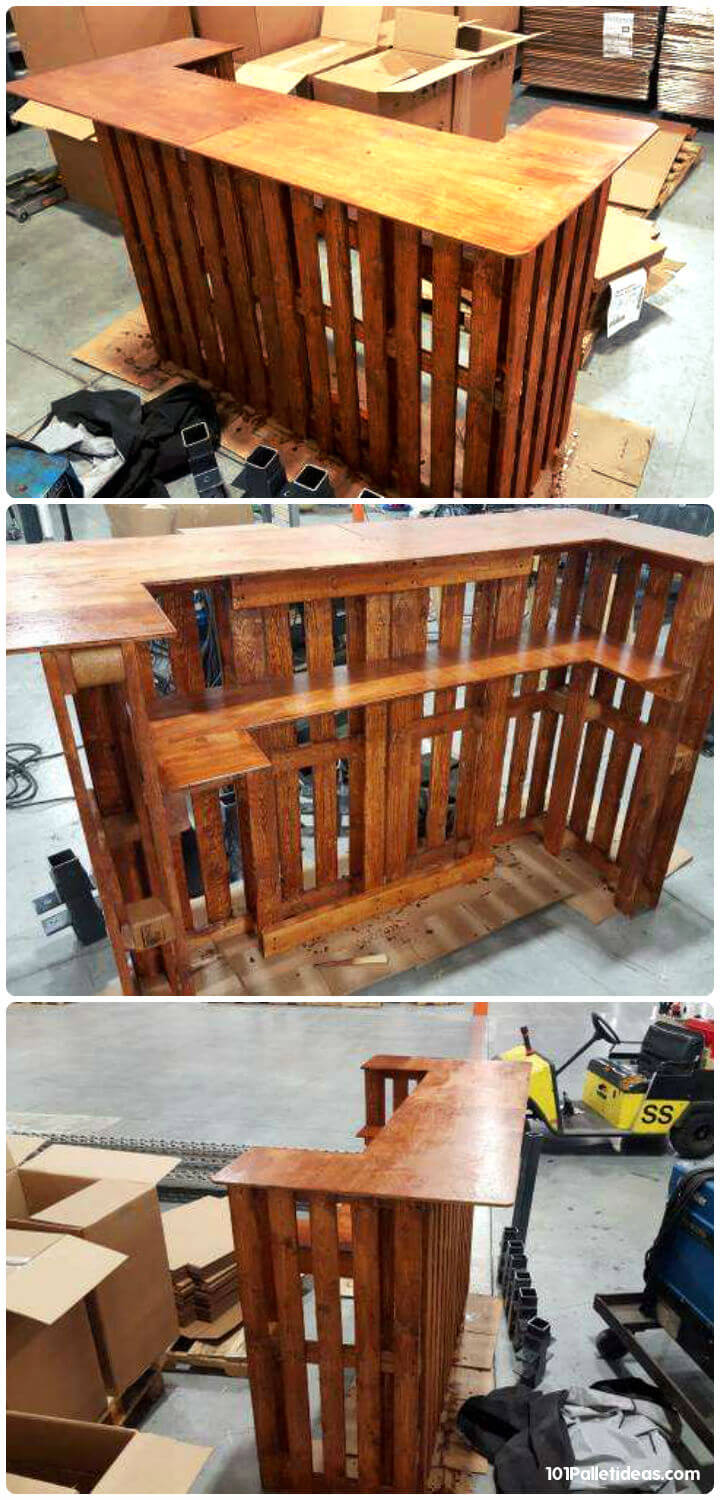 50+ Best-loved Pallet Bar Ideas & Projects on Pallets Design Ideas  id=48614