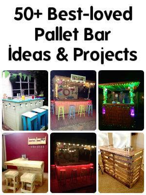 45 Easiest Diy Projects With Wood Pallets 101 Pallet