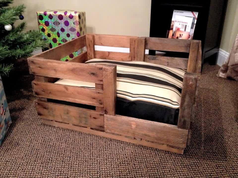 40 Diy Pallet Dog Bed Ideas Don 39 T Know Which I Love