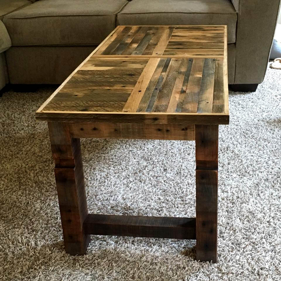 Furniture made from pallets garden furniture made from for Pallet end table