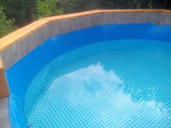 Free Of Cost Pallet Swimming Pool 101 Pallet Ideas