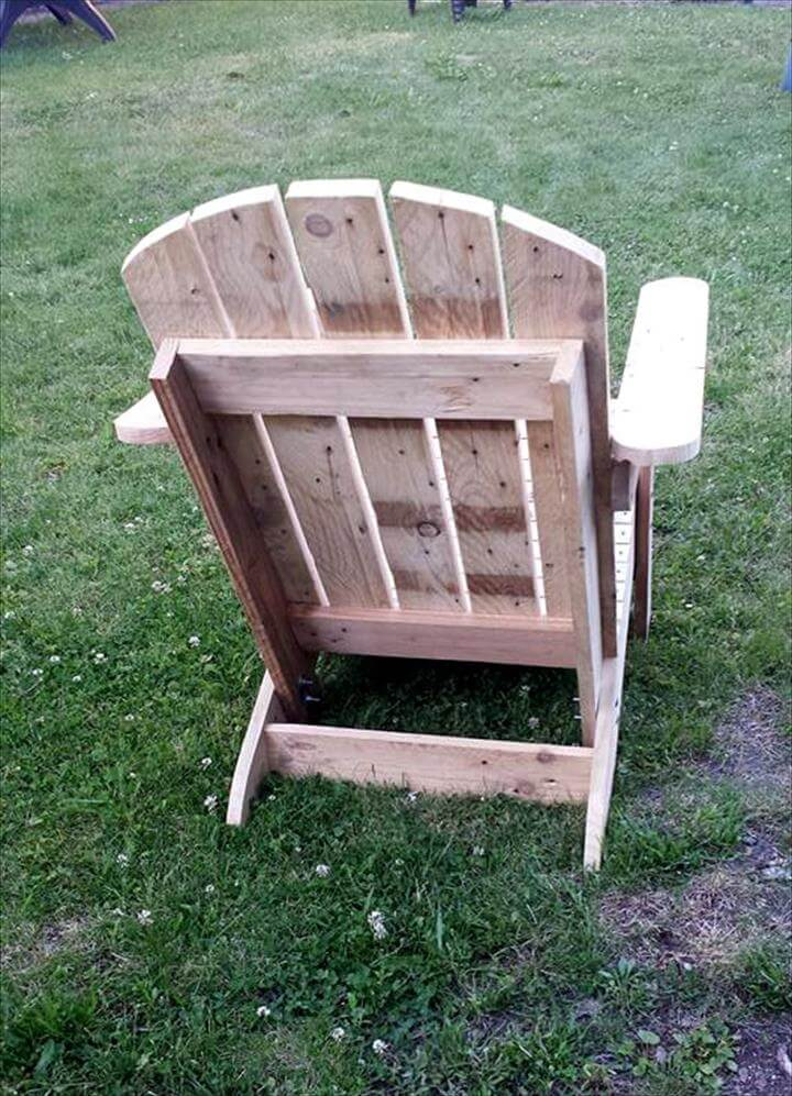 How to Build a Pallet Adirondack Chair – Pallet Adirondack Chairs
