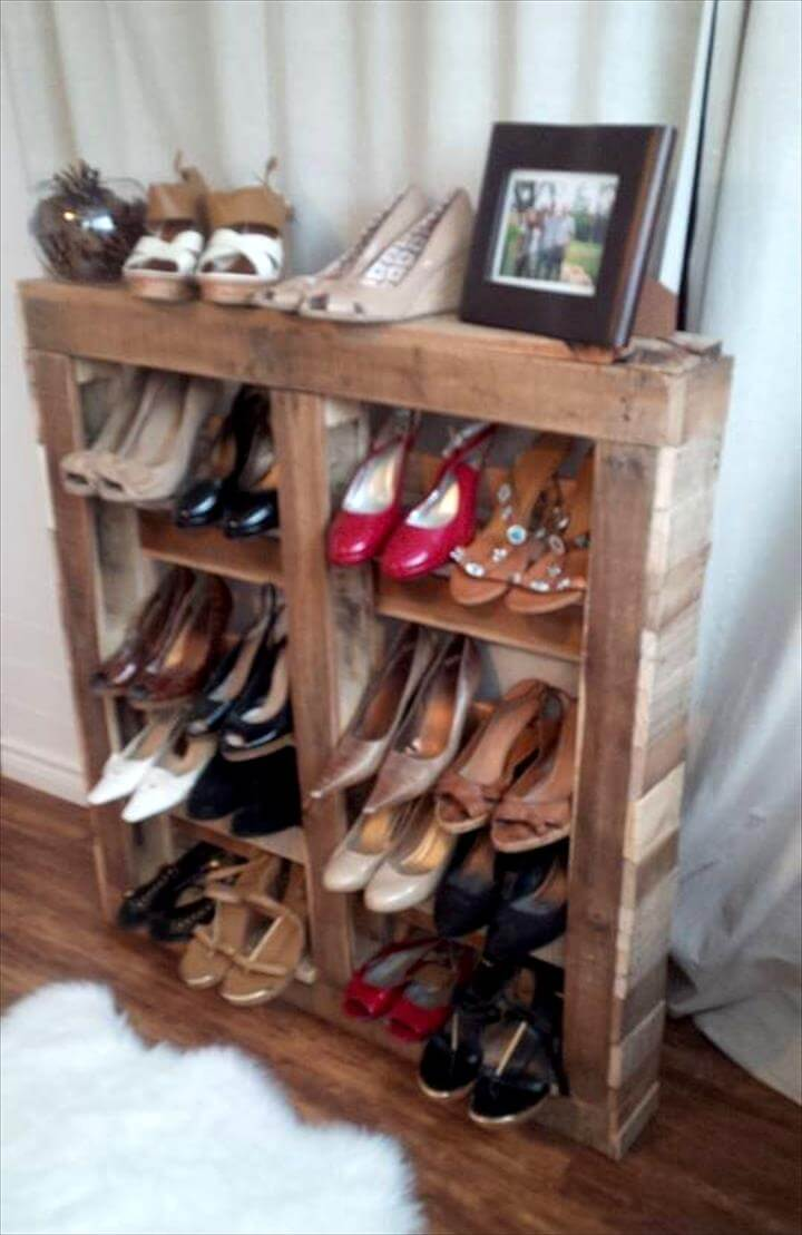 handcrafted wooden pallet shoes racka